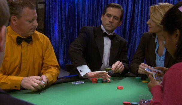 the office casino night