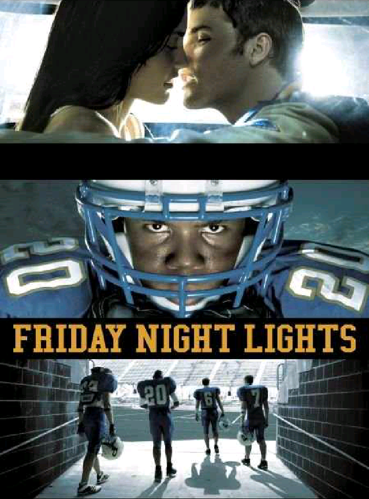 friday night lights movie essays Friday night lights book and movie review paper instructions: must read the book friday night lights by buzz bissinger and watch the movie version of friday night lights.