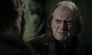 Walder Frey (David Bradley) in Game of Thrones: the host with the least.