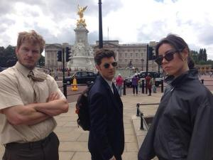 Chris-Pratt-Adam-Scott-Aubrey-Plaza-England-July-2013