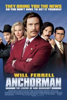 1anchorman will ferrell