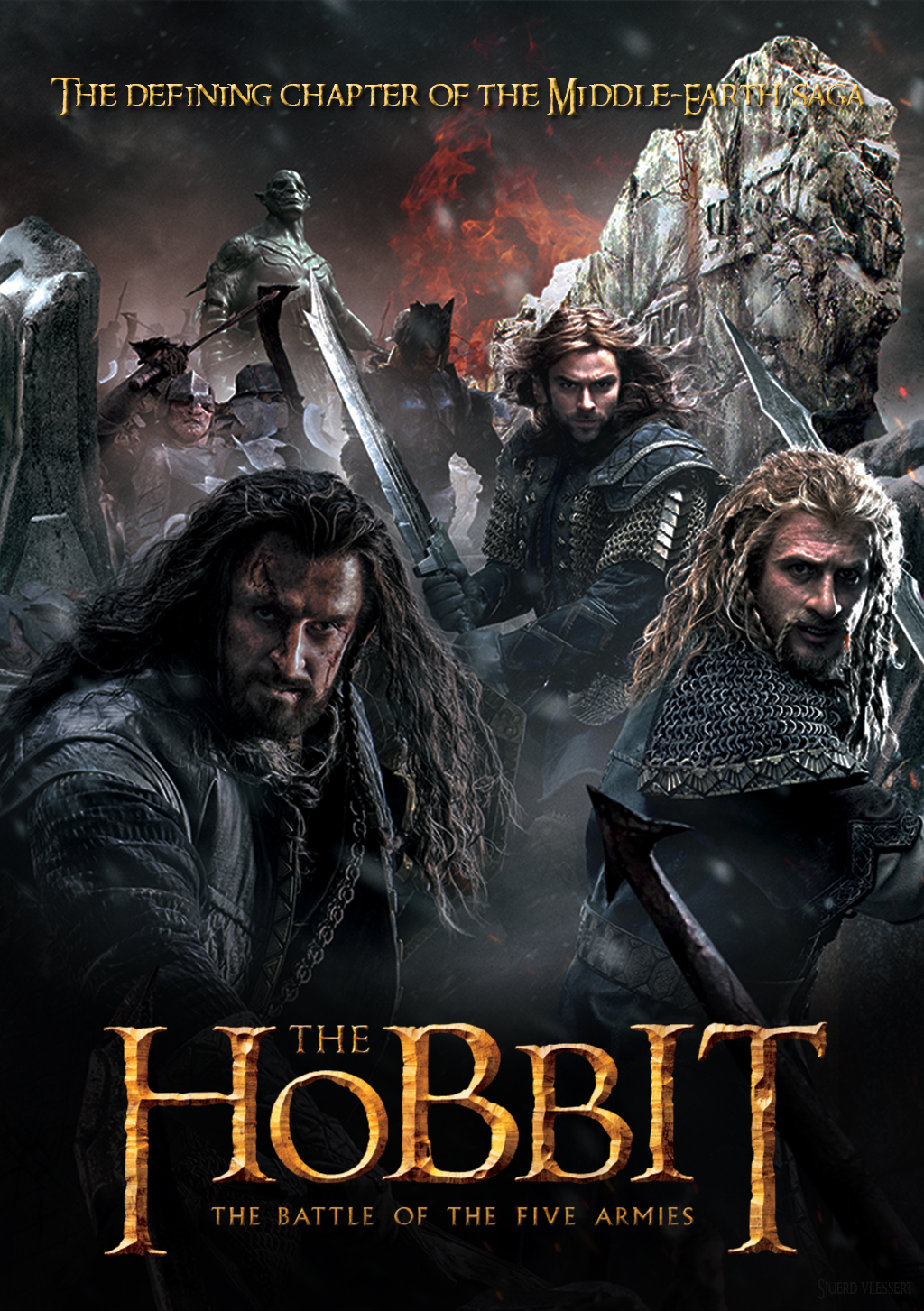 Movie Review The Hobbit The Battle Of The Five Armies 2014 The Obsessive Viewer