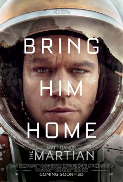 the martian bring him home poster